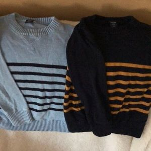 Lot of 2 Baby Gap striped sweaters size 2 years